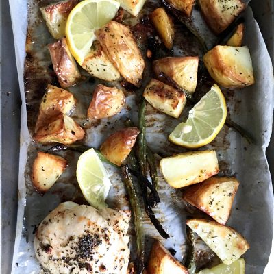 LEMON ROSEMARY CHICKEN & POTATOES
